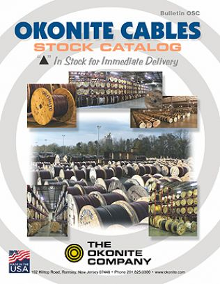 Okonite's Stock Catalog of Instock Cables Only (OSC)