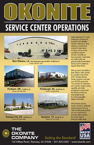 Okonite Service Center Operations