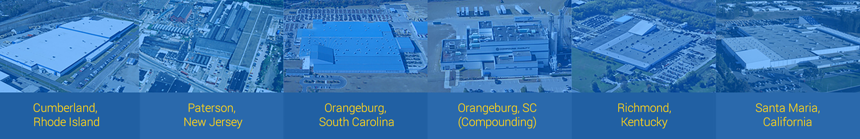 Our Manufacuturing Locations